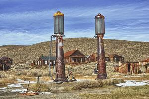 Gas Pumps by Robert Kaler