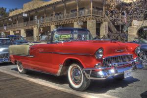 Vintage Red Car by Robert Kaler