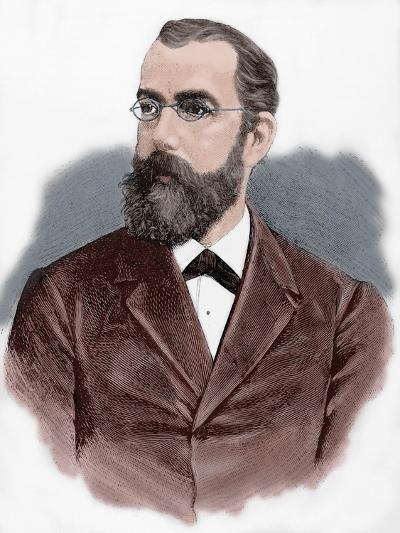 Robert Koch (1843-1910)--Giclee Print