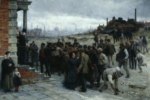 The Strike (Pittsburgh, 1877), 1886 by Robert Koehler