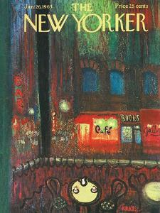 The New Yorker Cover - January 26, 1963 by Robert Kraus