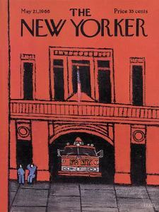The New Yorker Cover - May 21, 1966 by Robert Kraus