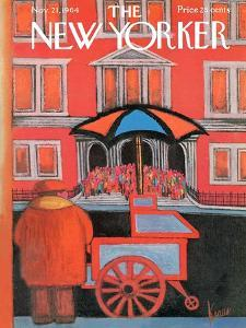 The New Yorker Cover - November 21, 1964 by Robert Kraus