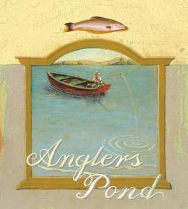 Angler's Pond by Robert LaDuke