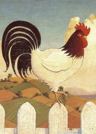 Country Crowers I by Robert LaDuke