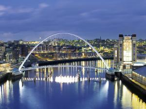 Newcastle, Tyne and Wear, England by Robert Lazenby