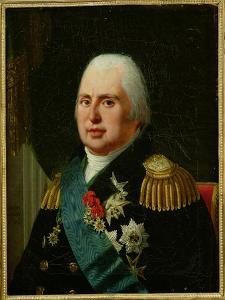 Louis XVIII (1755-1824) after 1815 by Robert Lefevre