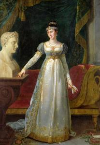 Marie Pauline Bonaparte (1780-1825) Princess Borghese, 1808 by Robert Lefevre