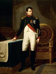 Napoleon Bonaparte's Portrait, 1809 by Robert Lefevre