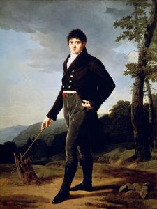 Portrait of Count Andrey Bezborodko, 1804 by Robert Lefevre