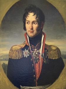Portrait of General Pyotr Chicherin, 1814 by Robert Lefevre
