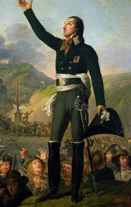 Portrait of Louis-Marie de Salgues Marquis de Lescure, 1818 by Robert Lefevre