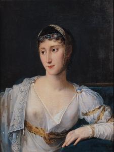 Portrait of Marie-Pauline Bonaparte (1780-1825) Princess Borghese, 1806 by Robert Lefevre