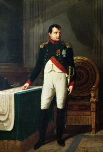 Portrait of Napoleon Bonaparte 1809 by Robert Lefevre