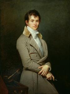 Portrait of Paulin-Guerin 1801 by Robert Lefevre