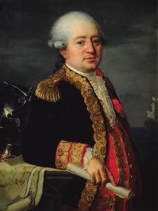 Portrait of the Comte De La Couldre De La Bretonniere by Robert Lefevre