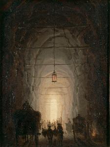 Posillipo Cave Near Naples by Robert Lefevre