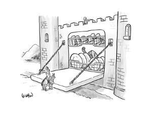 New Yorker Cartoon by Robert Leighton