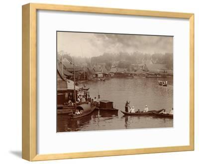 Chao Phraya River, 1890