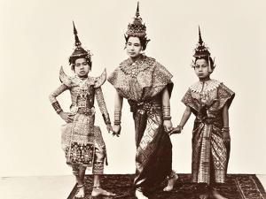 Classical Thai Dancers, C.1900 by Robert Lenz