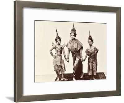 Classical Thai Dancers, C.1900