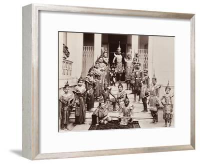 Thai Classical Dancers, C.1900
