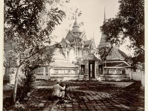 Wat Pho, 1890 by Robert Lenz