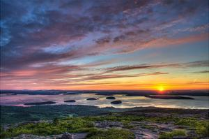Acadia Sunrise by Robert Lott