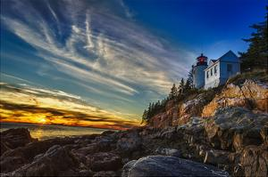 Bass Harbor Lighthouse by Robert Lott