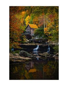 Glade Creek Mill by Robert Lott