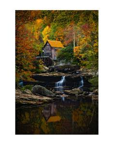 Glade Creek Mill by Robert Lott