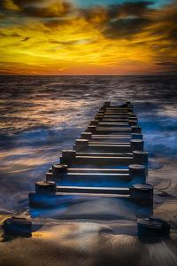 Outfall at Sunrise #2 by Robert Lott