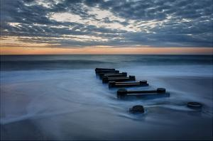 Outfall at Sunrise #4 by Robert Lott