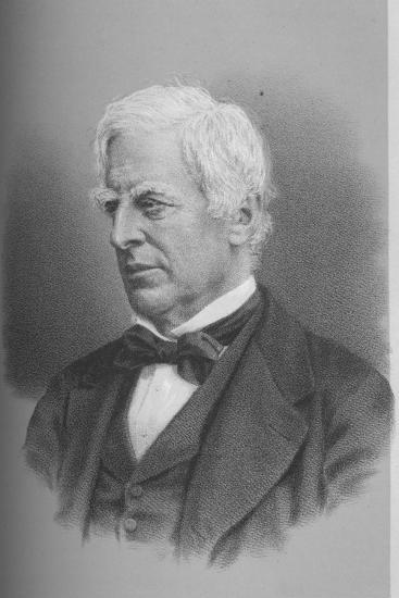 Robert Lowe, Viscount Sherbrooke, British politician, 1873 (1883)-Unknown-Giclee Print