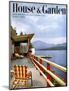 House & Garden Cover - August 1949 by Robert M. Damora