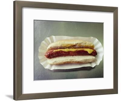 Close-up of a Hot Dog