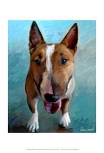 Spike Bull Terrier by Robert Mcclintock