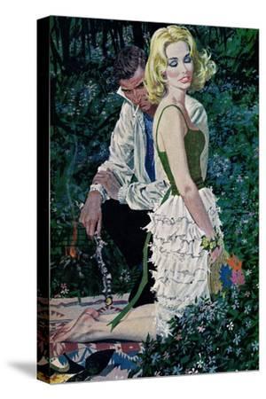 "Furtive Affair - Saturday Evening Post ""Leading Ladies"", May 7, 1960 pg.30"