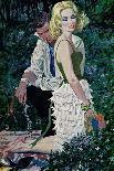 "Furtive Affair - Saturday Evening Post ""Leading Ladies"", May 7, 1960 pg.30-Robert Mcginnis-Giclee Print"