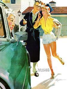 "Caroline's Men - Saturday Evening Post ""Leading Ladies"", April 22, 1955 pg.26 by Robert Meyers"