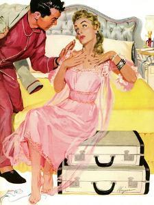 "Georgeous Decoy - Saturday Evening Post ""Leading Ladies"", June 12, 1954 pg.27 by Robert Meyers"