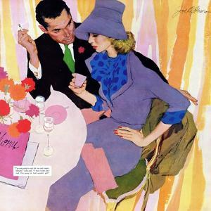 "Marriage Is Not For Me  - Saturday Evening Post ""Leading Ladies"", June 15, 1957 pg.40 by Robert Meyers"