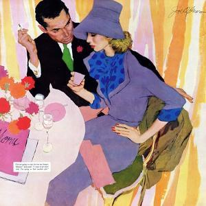 """Marriage Is Not For Me  - Saturday Evening Post """"Leading Ladies"""", June 15, 1957 pg.40 by Robert Meyers"""