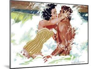 "The Girl Next Door  - Saturday Evening Post ""Leading Ladies"", October 6, 1956 pg.30 by Robert Meyers"