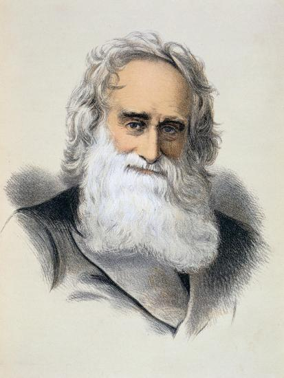 Robert Moffat, British missionary, 19th century-Unknown-Giclee Print
