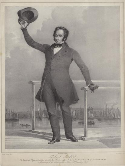 Robert Moffat, Scottish Missionary to Africa-James Henry Lynch-Giclee Print
