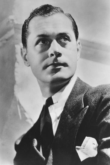 Robert Montgomery (1904-198), American Actor and Director, 20th Century--Photographic Print