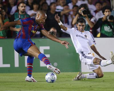 Aug 1, 2009, FC Barcelona vs Los Angeles Galaxy - Thierry Henry
