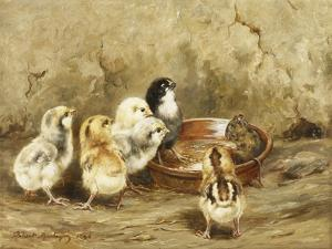 The Uninvited Lunch Guest, 1896 by Robert Morley