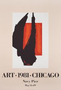 Art Chicago by Robert Motherwell